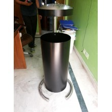 Outdoor Waste Dustbin With Ashcan