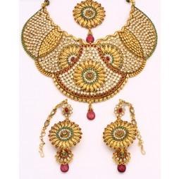 Golden Flower Necklace
