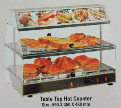 Table Top Hot Display Counter