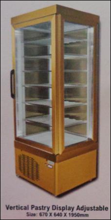 Vertical Pastry Display Adjustable