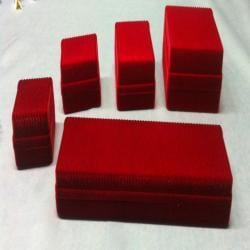 Jewelry Red Color Box