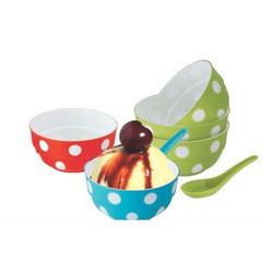 Ice Cream Plastic Bowl