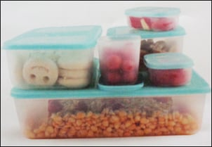 Plastic Food Containers (Refrigerator Safe)