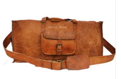 a9060da0f05 Leather Duffle Bags (Square Duffel 24