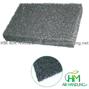 Activated Carbon Polyethylene Sponge Filter