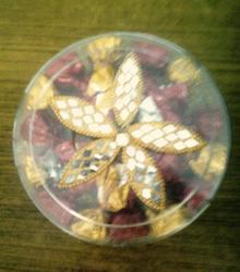Round Small Transparent Box