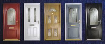 Glass PVC Door