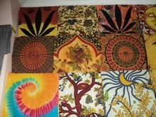 Single Size Printed Tapestries From India