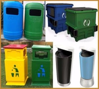 GRP And FRP Dustbin