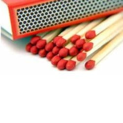 Wooden Safety Matches Boxes