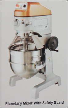 Planetary Mixer With Safety Guard