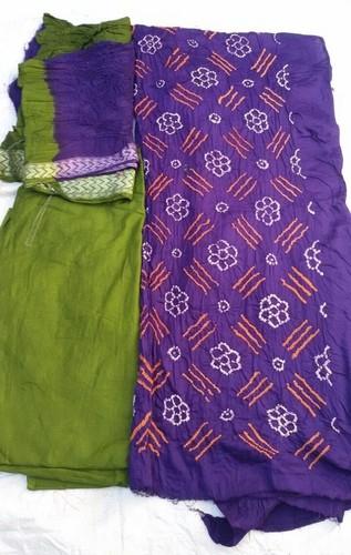 Jamnagar Bandhej Suit
