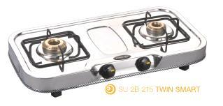 Double Burner Oval Series Gas Stoves (SU-2B-215 Twin Smart)