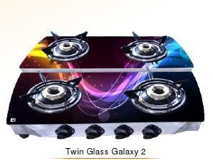 Twin Glass Galaxy 2 Cook Tops (Double Decker Series)