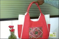 Jute Embroidery Bags