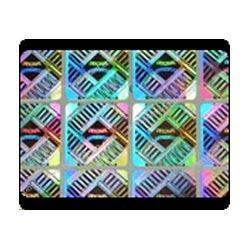 Flip-Flop Colored Hologram Sticker