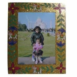 Hand Painted Wooden Photo Frame