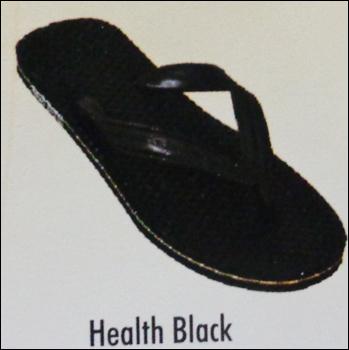 Health Black Chappal in  Chowbagha Road