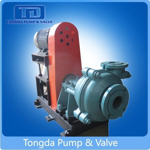 Mining, Power Plant, Dredge Usage Anti-Corrosion Rubber Lined 28% High Chrome Centrifugal Slurry Pumps