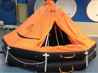 Davit Lunched Inflatable Life Raft