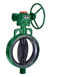 Audco (L&T) Butterfly Valve Pn 10 (Aqua Seal) Gear Operated