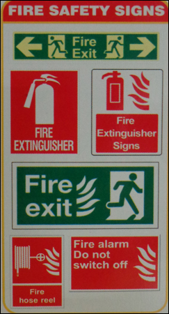 Fire Safety Signs in  Ghatkopar (W)