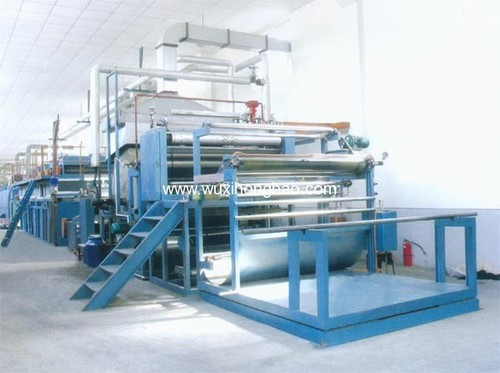 Drying Cylinder Flocking Machine