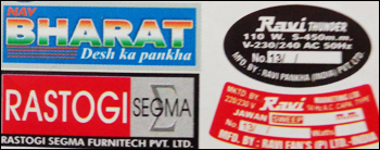 Poly Carbonate Stickers