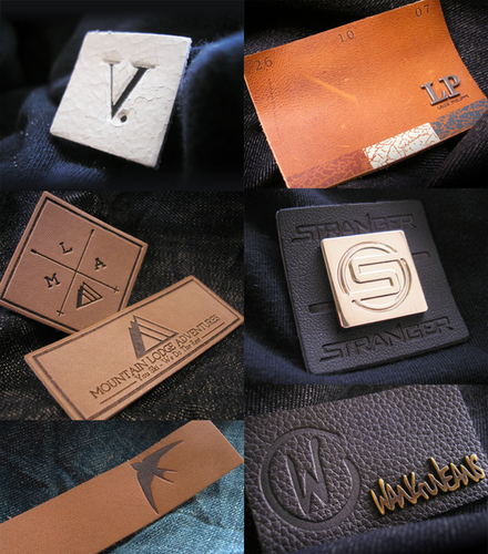 Leather Clothing Labels
