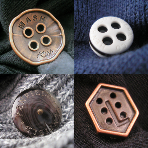 Sew-on Buttons (Clothing)
