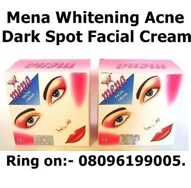 Mena Whitening Acne and Dark Spot Facial Cream in Hyderabad