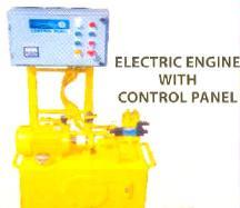 Electric Engine With Control Panel