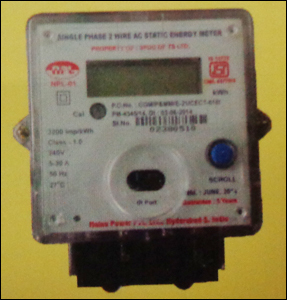 Single Phase Energy Meters in  Kukatpally