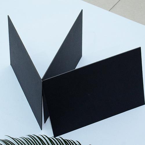 Black Carton Board