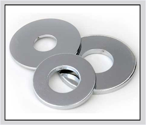 Plain Washers in  Industrial Area - A