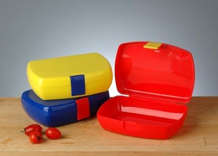 Plastic Lunch Box (EP-10121) in   Mango