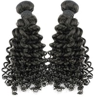 100% Machine Weft Hair Curly