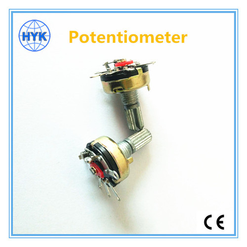16mm Rotary Potentiometers With Switch