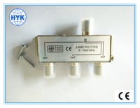 High Quality 4 Way TV Splitter 5-1000 MHz