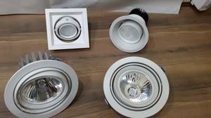 LED Rotated Down Lights