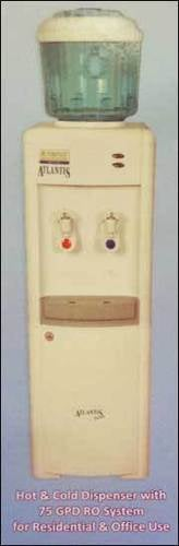 Hot And Cold Dispenser With Ro System