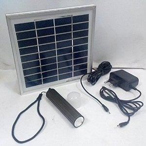Solar Rechargeable Torch