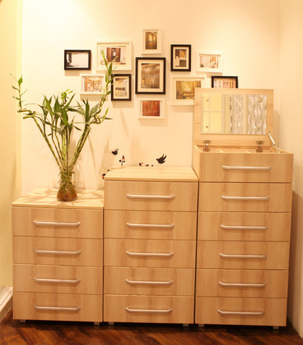 Small Wooden Drawer Chest For Living Room