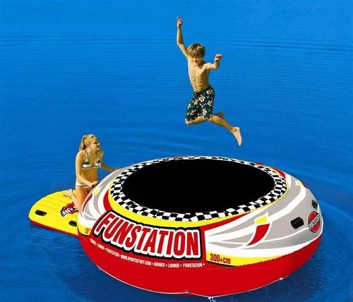Fun Station Water Trampoline