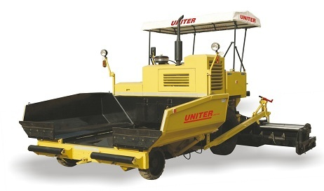 Asphalt Paver Finisher Machine