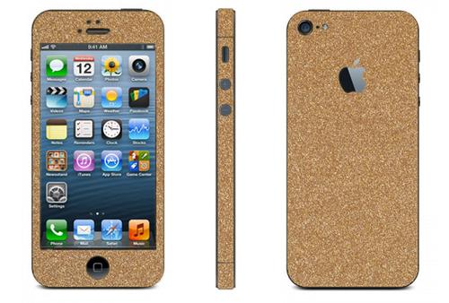 Golden Mobile Skin