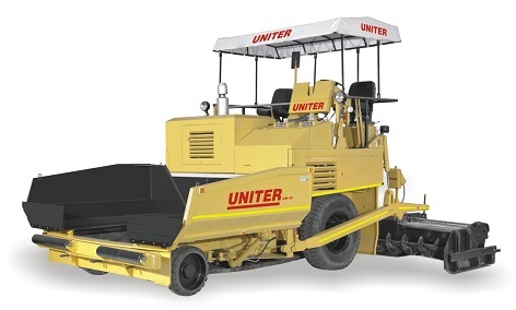 Mechanical Asphalt Paver (Dual Purpose) Machine