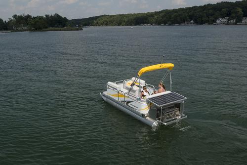 Aluminium Pontoon Boat