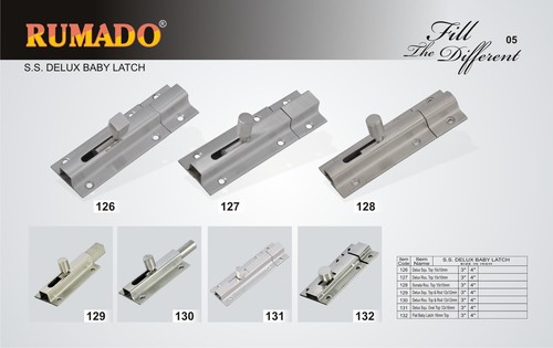 SS Deluxe Baby Latches