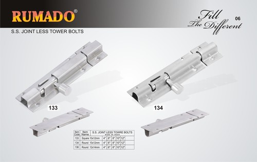 SS Joint Tower Bolts
